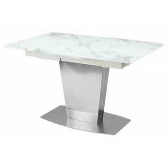 Стол CASTSTEEL 130 MATT GLASS матовый М-City