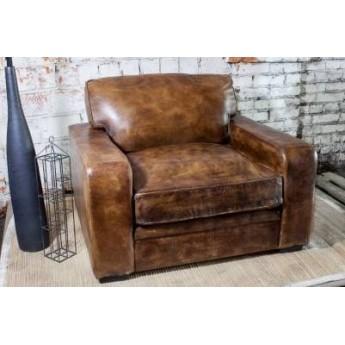Кожаное кресло SF5052