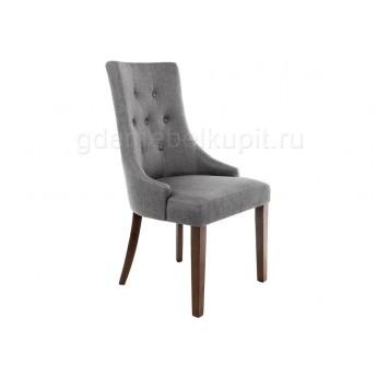Стул Elegance dark walnut / fabric grey