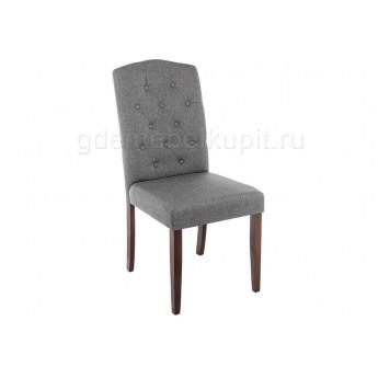 Стул Menson dark walnut / fabric grey