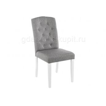 Стул Menson white / fabric pebble