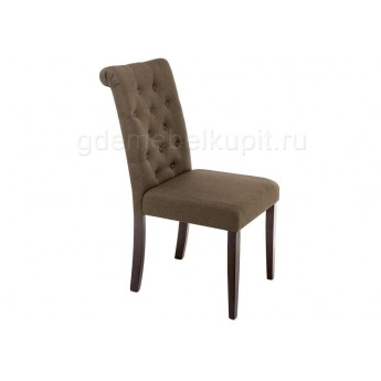 Стул Amelia dark walnut / fabric brown