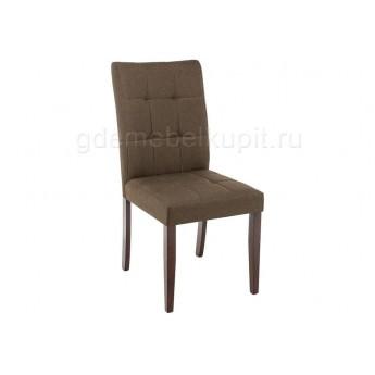 Стул Madina dark walnut / fabric brown