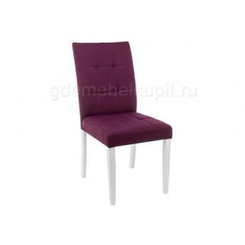 Стул Madina white / fabric purple
