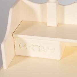 Туалетный столик с зеркалом и табуретом ARNO (mod. HX18-263)