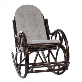 Кресло-качалка CLASSIC с подушкой цвет Орех (подушка)