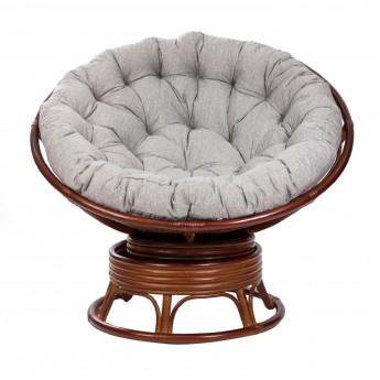 Кресло-качалка PAPASUN SWIVEL ROCKER c подушкой цвет Коньяк