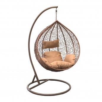 Подвесное кресло LESET ALTAR BROWN МИ каркас Коричневый, подушка Коричневая