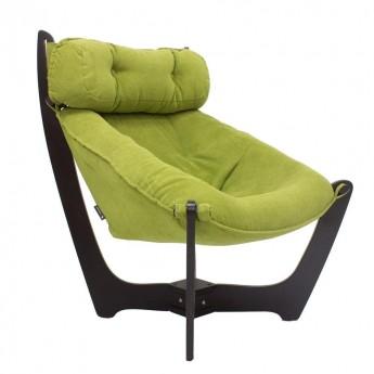 Кресло для отдыха МИ Модель 11 Венге, ткань Verona Apple Green
