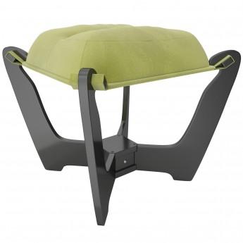 Пуф МИ Модель 11.2 Венге, ткань Verona Apple Green