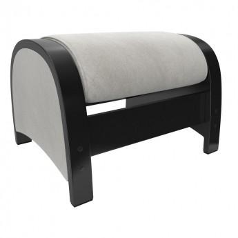 Пуф-глайдер МИ Модель Balance 2 Венге/шпон, ткань Verona Light Grey