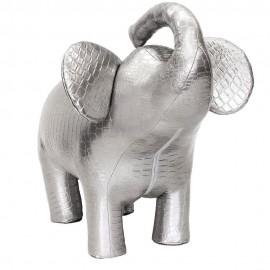 Пуф Leset Слон 2 Серебристый