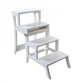 Стул-лестница Leset Бруклин белый