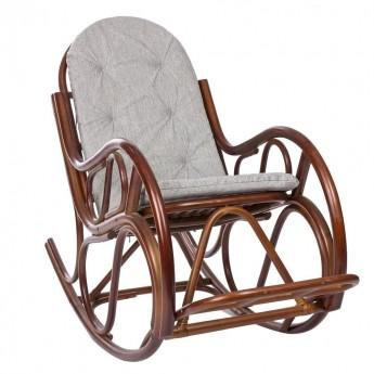 Кресло-качалка CLASSIC с подушкой цвет Коньяк (подушка)