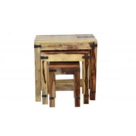 Набор табуреток/столиков Бомбей - 0077