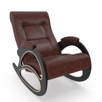 Кресло-качалка МИ Модель 4 Венге, к/з Antik Crocodile