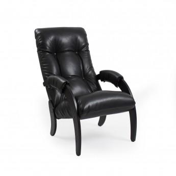 Кресло для отдыха МИ Модель 61 Венге, к/з Vegas Lite Black