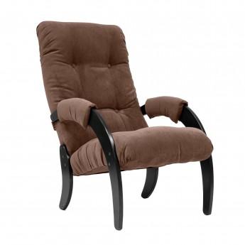 Кресло для отдыха МИ Модель 61 Венге, ткань Verona Brown