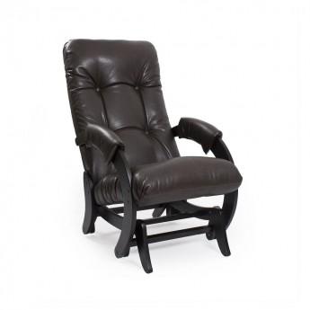 Кресло-качалка глайдер МИ Модель 68 Венге, к/з Vegas Lite Amber