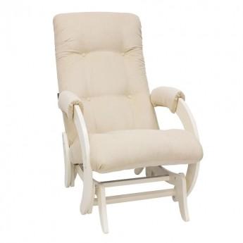 Кресло-качалка глайдер МИ Модель 68 Дуб шампань, ткань Verona Vanilla