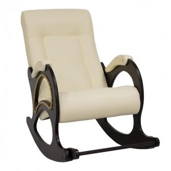 Кресло-качалка МИ Модель 44 Венге, к/з Dundi 112