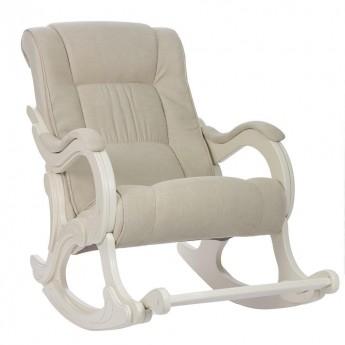 Кресло-качалка МИ Модель 77 Дуб шампань, ткань Verona Vanilla