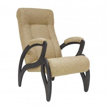 Кресло для отдыха МИ Модель 51 Венге, ткань Malta 03 A