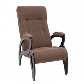 Кресло для отдыха МИ Модель 51 Венге, ткань Verona Brown