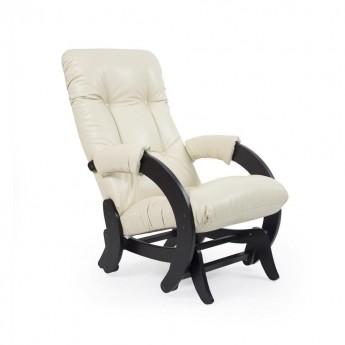 Кресло-качалка глайдер МИ Модель 68 Венге, к/з Dundi 112