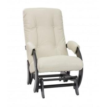 Кресло-качалка глайдер МИ Модель 68 Венге, к/з Polaris Beige