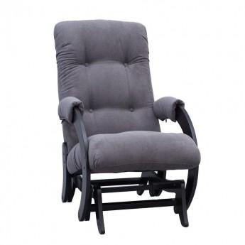 Кресло-качалка глайдер МИ Модель 68 Венге, ткань Verona Antrazite Grey