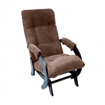 Кресло-качалка глайдер МИ Модель 68 Венге, ткань Verona Brown