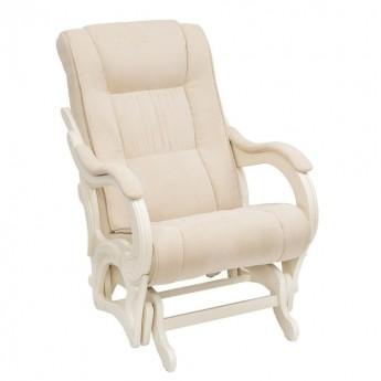 Кресло-качалка глайдер МИ Модель 78 Дуб шампань, ткань Verona Vanilla