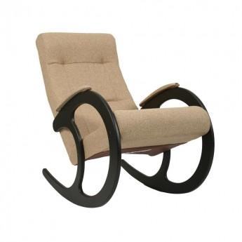 Кресло-качалка МИ Модель 3 Венге, ткань Malta 03 А