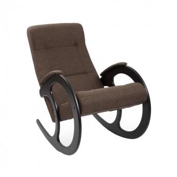 Кресло-качалка МИ Модель 3 Венге, ткань Malta 15 А
