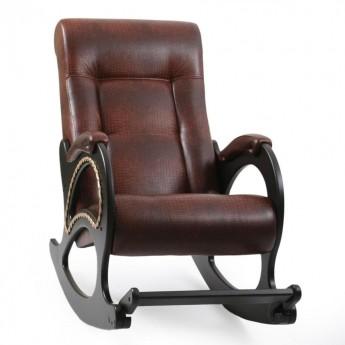Кресло-качалка МИ Модель 44 Венге, к/з Antik crocodile