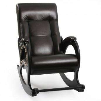 Кресло-качалка МИ Модель 44 Венге, к/з Oregon perlamutr 120