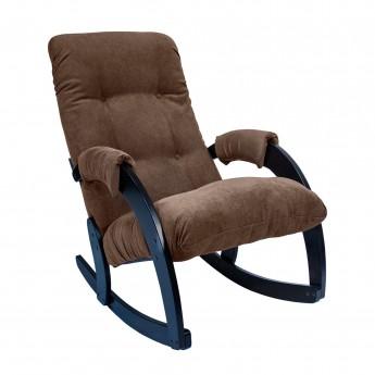 Кресло-качалка МИ Модель 67 Венге, ткань Verona Brown