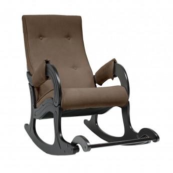 Кресло-качалка МИ Модель 707 Венге, ткань Verona Brown