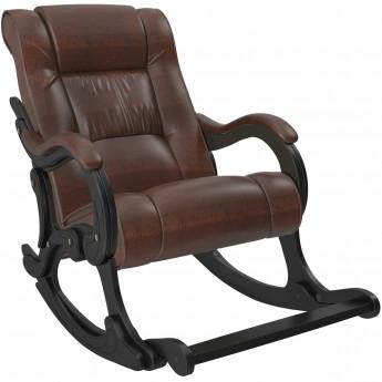 Кресло-качалка МИ Модель 77 Венге, к/з Antik crocodile