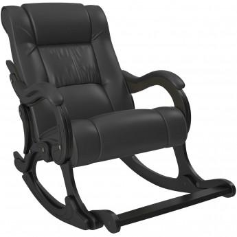 Кресло-качалка МИ Модель 77 Венге, к/з Dundi 109