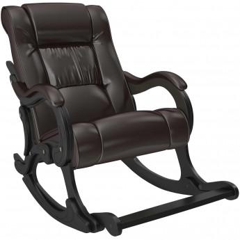 Кресло-качалка МИ Модель 77 Венге, к/з Oregon perlamutr 120