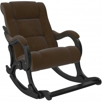 Кресло-качалка МИ Модель 77 Венге, ткань Verona Brown