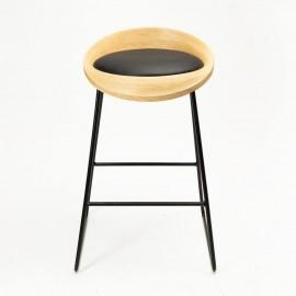 Барный стул ROE черный