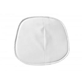 """Подушка для стульев серии """"Eames"""" из эко кожи, белая"""