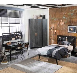 Кровать Cilek Dark Metal L 200 на 100 см