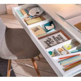 Письменный стол с тумбой Cilek White