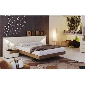 Кровать ELENA (180*200) arena matt/ орех
