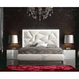 Кровать FRANCO KIU 1243 (180 х200) белый