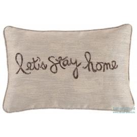 A1000554 Подушка декоративная Lets Stay Home